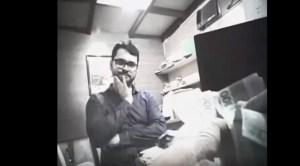 Confira em vídeo o momento em que Berg Lima recebe propina de empresário