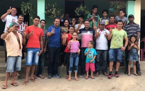 ELEIÇÕES 2018 - Candidato Marmuthe Cavalcanti recebe o apoio de lideranças de Alagoa Nova que terá sede da ONG CICOVI