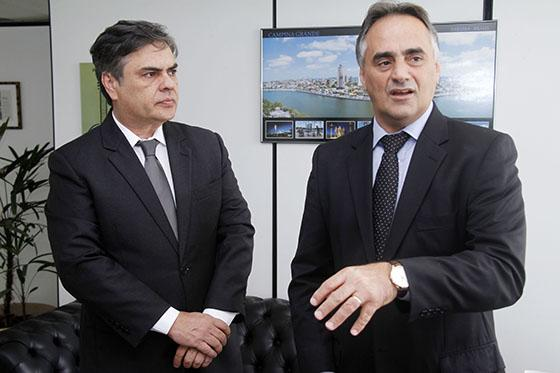 ELEIÇÕES 2018  -  Cássio buscará diálogo com MDB para unidade em torno de Lucélio