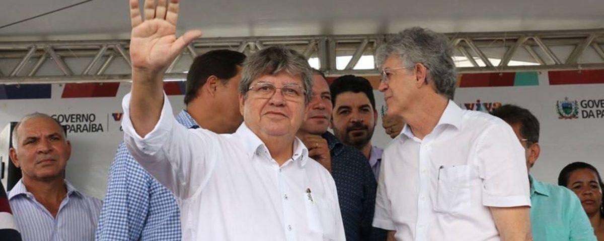 Variações da crise: Ricardo Coutinho fica com o partido, João Azevêdo com o governo?