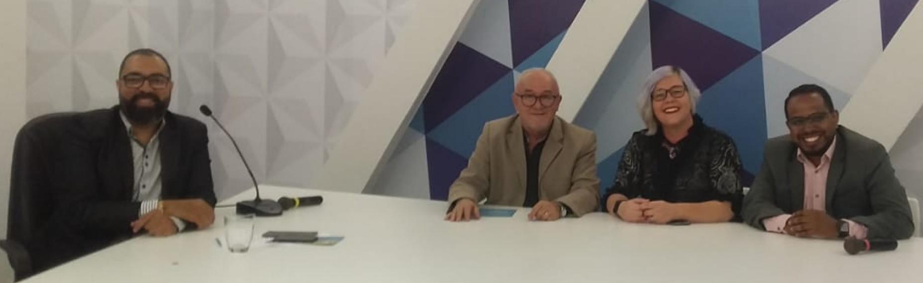 TV MASTER - Jornalistas convidados debatem a política paraibana e outros assuntos das 18:00 às 19:00 horas no Programa Master News