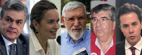 PESQUISA IBOPE   -   Cássio segue liderando disputa ao Senado com Veneziano em segundo