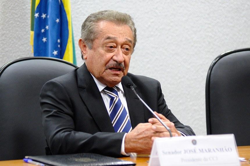 Assim como Cássio, José Maranhão também recebe pensão de ex-governador e salário de senador