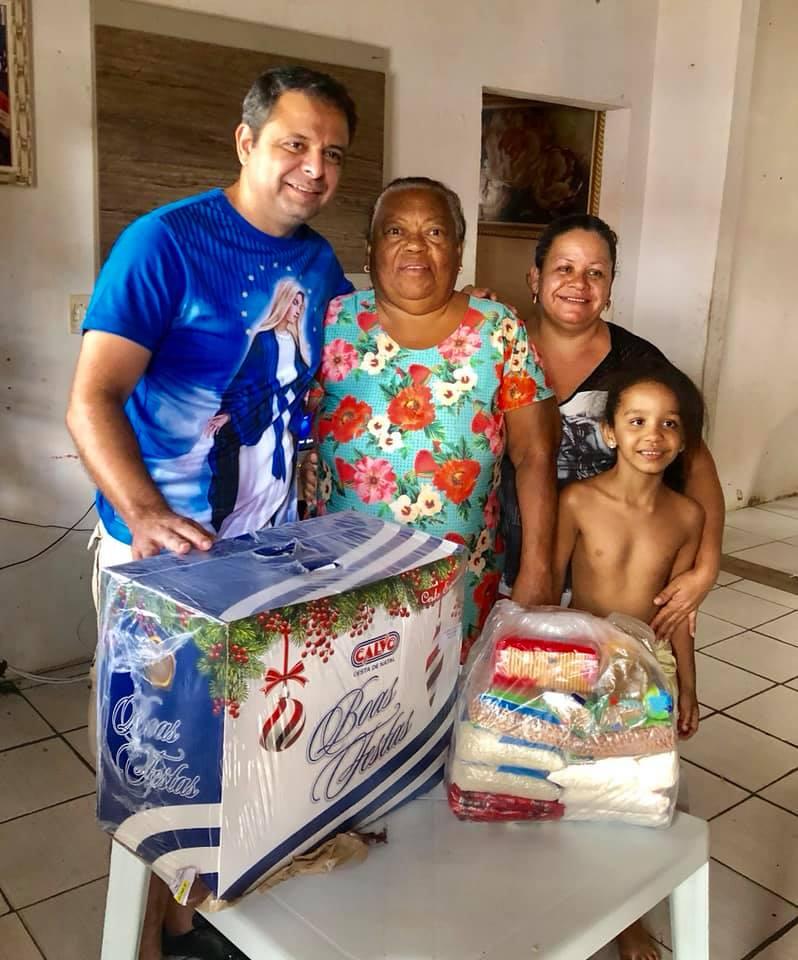FAZER O BEM SEM VÊ A QUEM - Marmuthe mantém trabalho social com famílias da Zona Sul e comunidades do Valentina