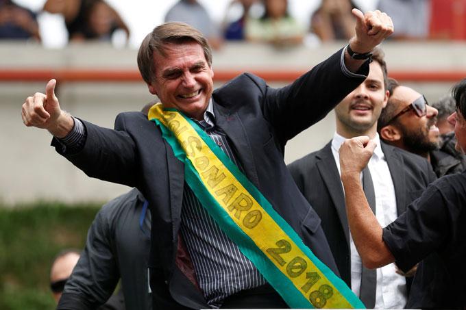 Eleger Jair Bolsonaro  Presidente é derrotar o crime organizado da política